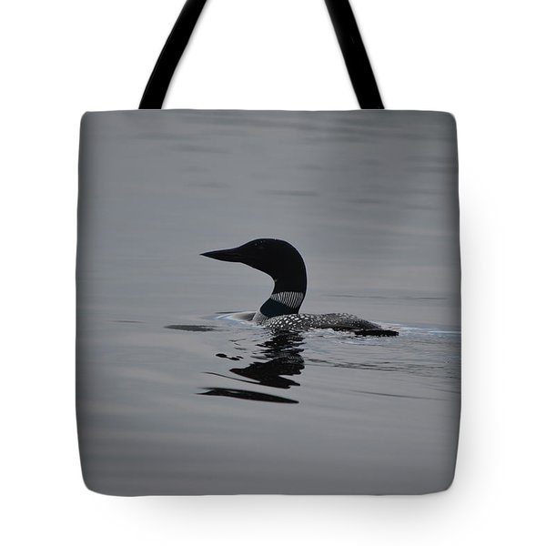Common Loon Tote Bag by James Petersen