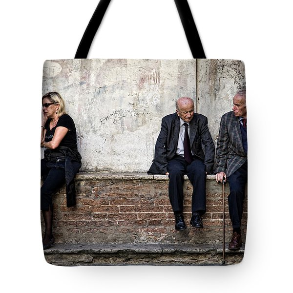 Communication Tote Bag by Dave Bowman