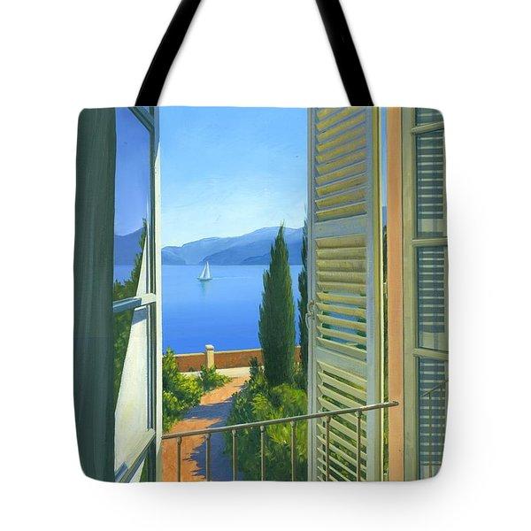 Como View Tote Bag by Michael Swanson