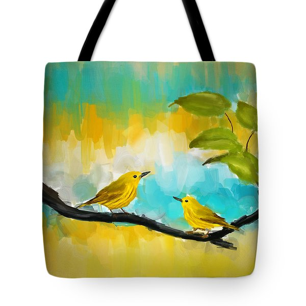 Companionship Tote Bag by Lourry Legarde