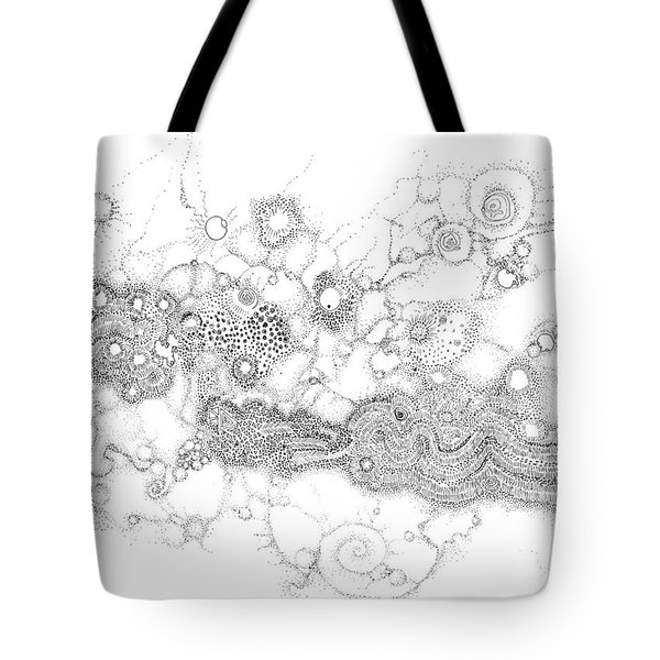Complex Fluid A Novel Surfactancy Tote Bag by Regina Valluzzi