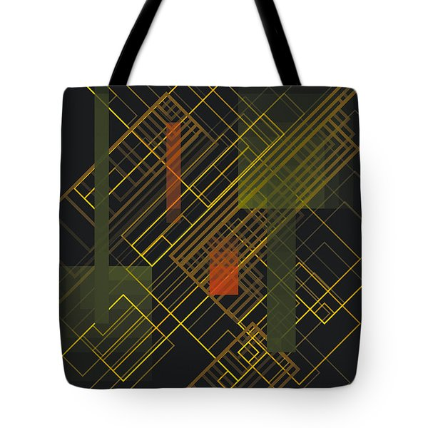 Composition 15 Tote Bag by Terry Reynoldson