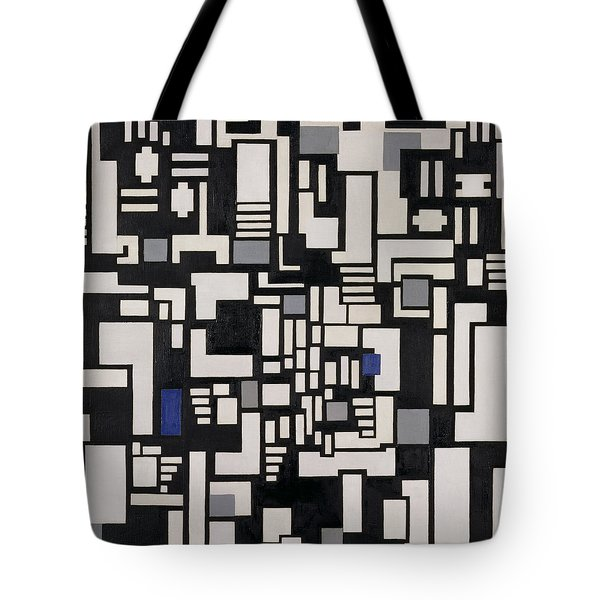 Composition Ix Tote Bag by Theo Van Doesburg