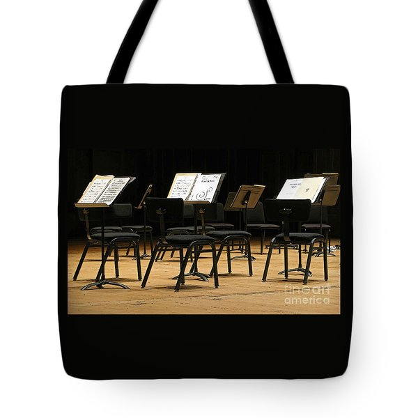 Concert Time Out Tote Bag by Ann Horn