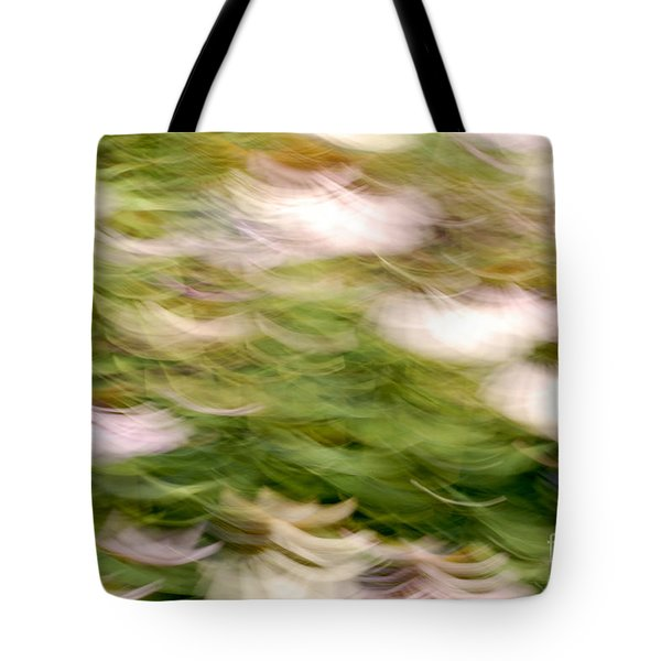 ConeFlowers in the Breeze Tote Bag by Paul W Faust -  Impressions of Light