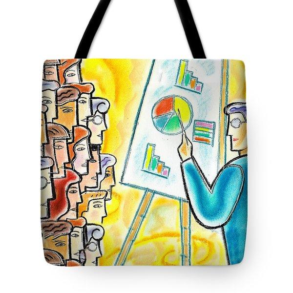 Conference Tote Bag by Leon Zernitsky