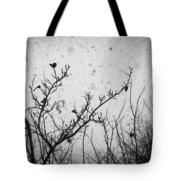 Confusing in the snow Tote Bag by Taylan Soyturk