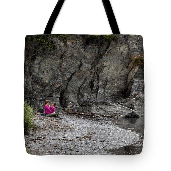 Connecting Tote Bag by David Kehrli