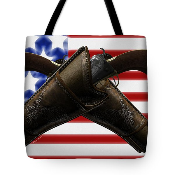 Constitutional Rights Tote Bag by Cheryl Young