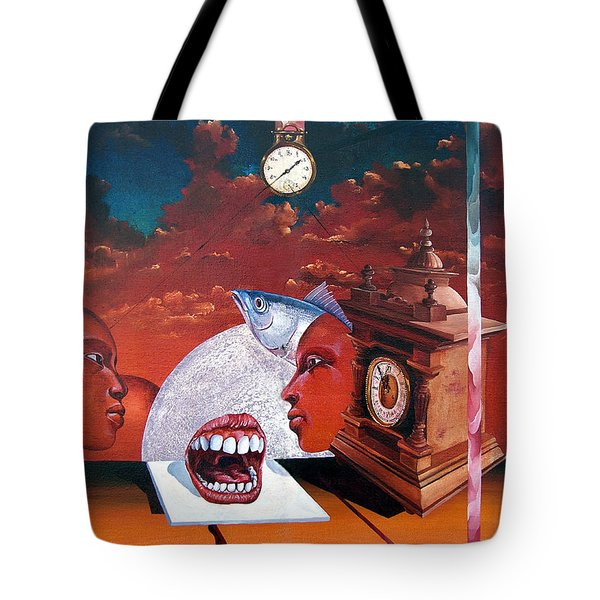 Consumption Of Time  Tote Bag by Otto Rapp