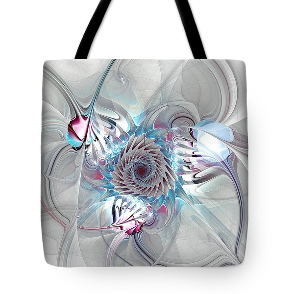 Contact Tote Bag by Anastasiya Malakhova