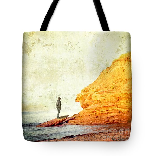 Contemplation Point Tote Bag by Edward Fielding