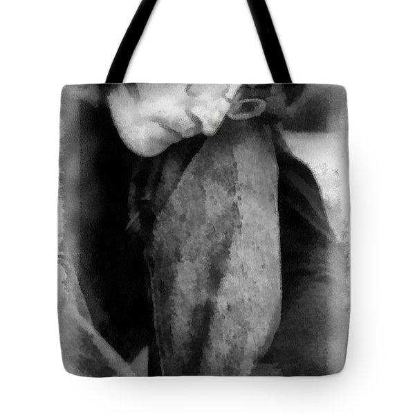 Contemplative John Tote Bag by Paulette B Wright