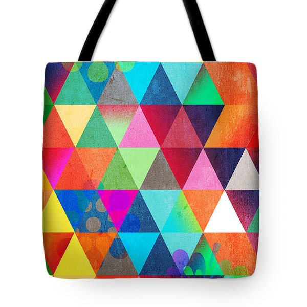 Contemporary 3 Tote Bag by Mark Ashkenazi