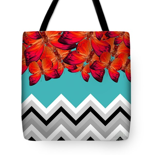 Contemporary Design Tote Bag by Mark Ashkenazi