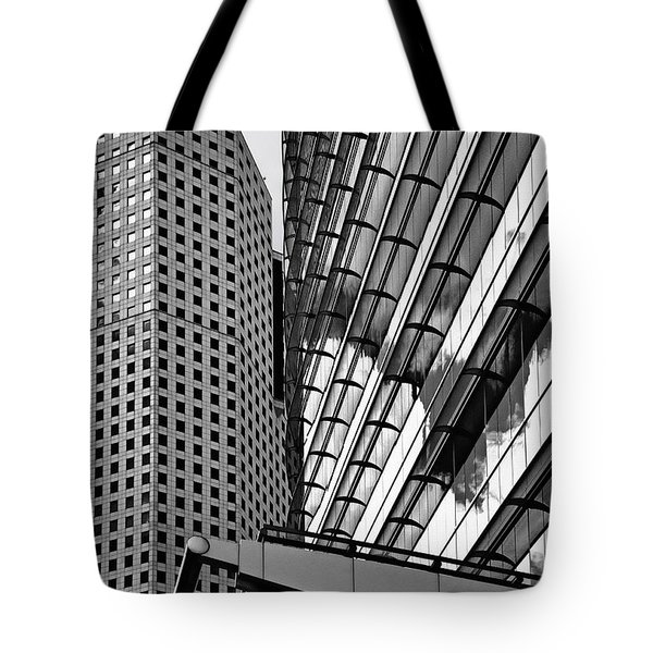 Continental Center I Houston TX Tote Bag by Christine Till