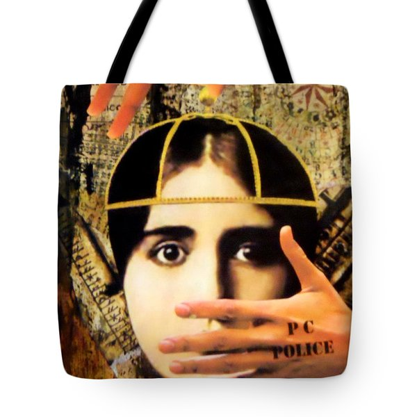 Control Tote Bag by Desiree Paquette
