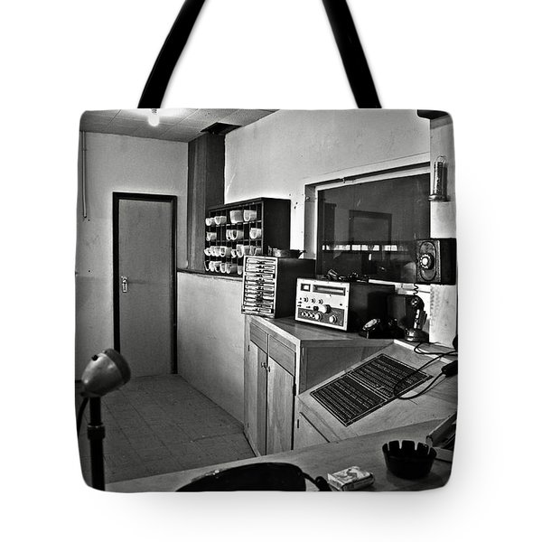 Control room in Alcatraz Prison Tote Bag by RicardMN Photography