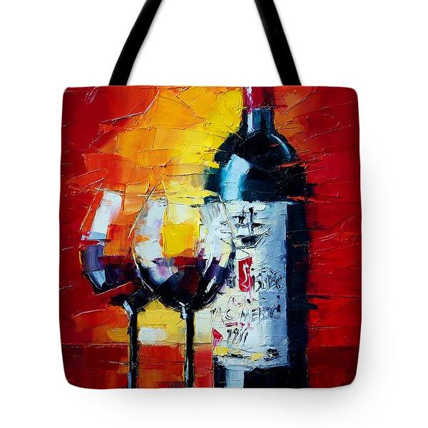 Conviviality Tote Bag by Mona Edulesco