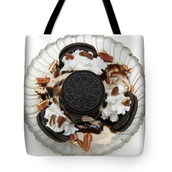 Cookies And Ice Cream Sundae 2 Tote Bag by Andee Design