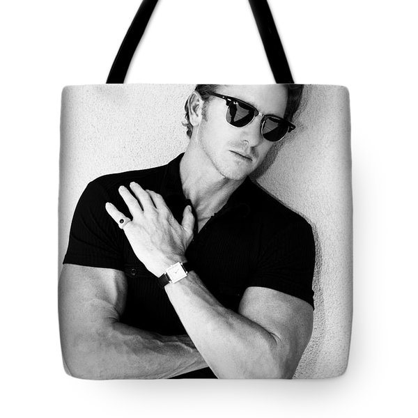 Cool Cal Bw Palm Springs Tote Bag by William Dey
