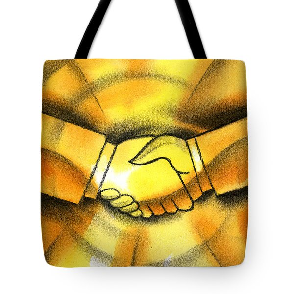 Cooperation Tote Bag by Leon Zernitsky