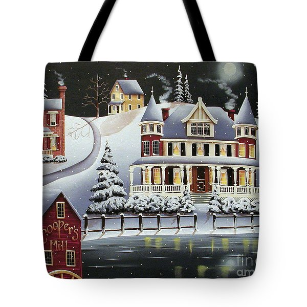 Coopersville Tote Bag by Catherine Holman