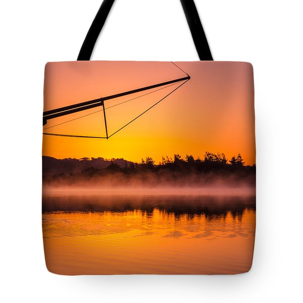Coos Bay Sunrise II Tote Bag by Robert Bynum
