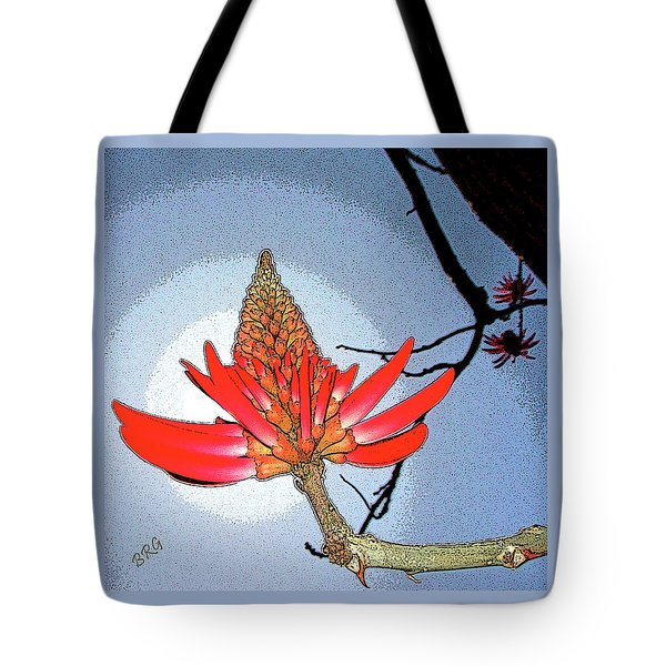 Coral Tree Tote Bag by Ben and Raisa Gertsberg