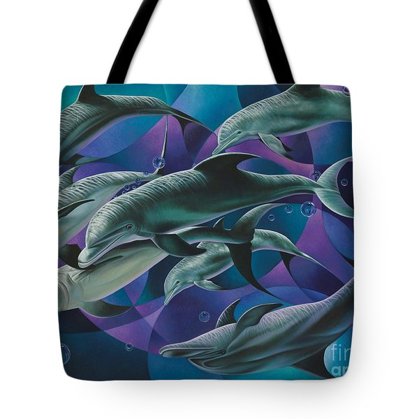 Corazon Del Mar  Tote Bag by Ricardo Chavez-Mendez
