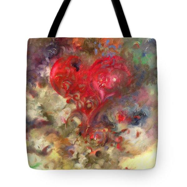 Corazon Tote Bag by Julio Lopez