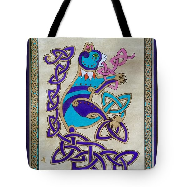 Corky's Journey Tote Bag by Beth Clark-McDonal
