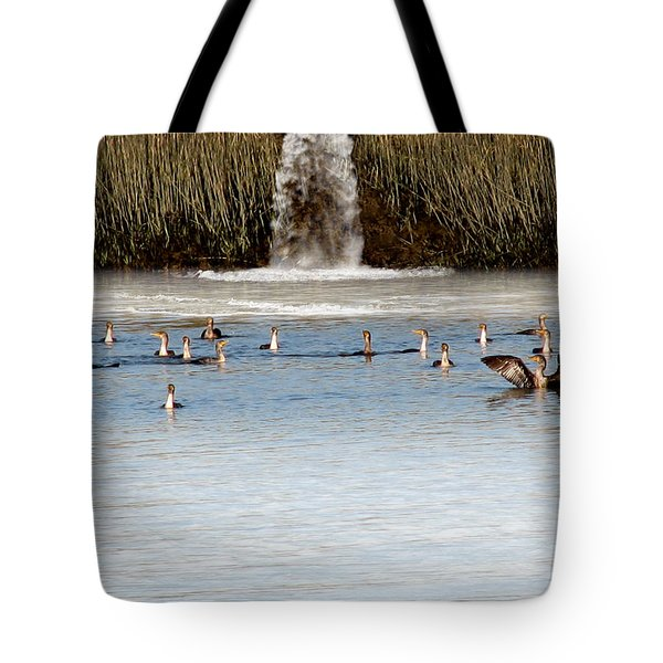 Cormorant Convention Tote Bag by EricaMaxine  Price