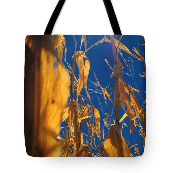 Corn Tote Bag by Todd and candice Dailey