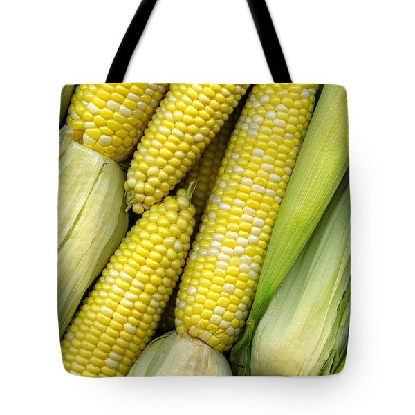 Corn On The Cob II Tote Bag by Tom Mc Nemar