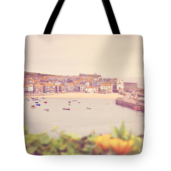 Cornish Harbour Tote Bag by Lyn Randle