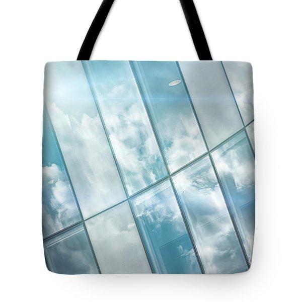Corporate Flare Reflection Tote Bag by Antony McAulay
