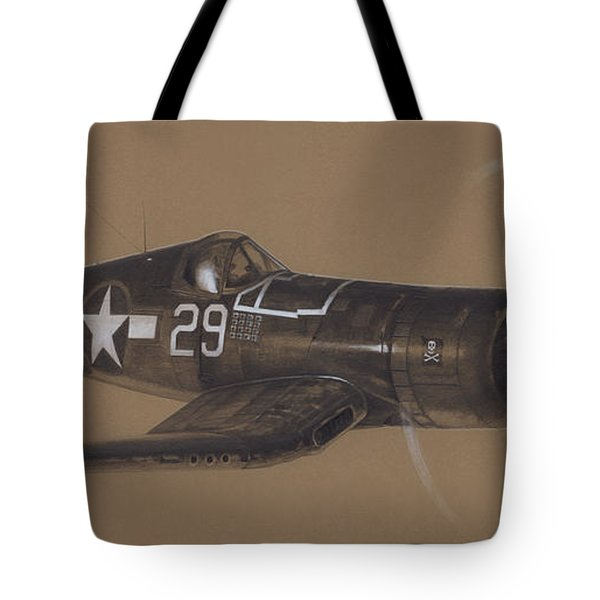 Corsair Triple Ace Tote Bag by Wade Meyers