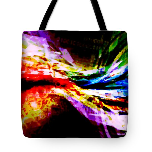 Cosmic Bowtie Tote Bag by M and L Creations