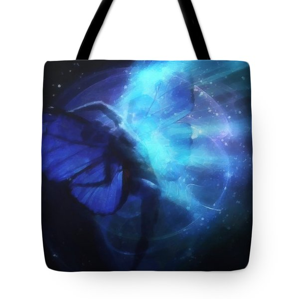 Cosmic Dance Of Joy Tote Bag by Gun Legler