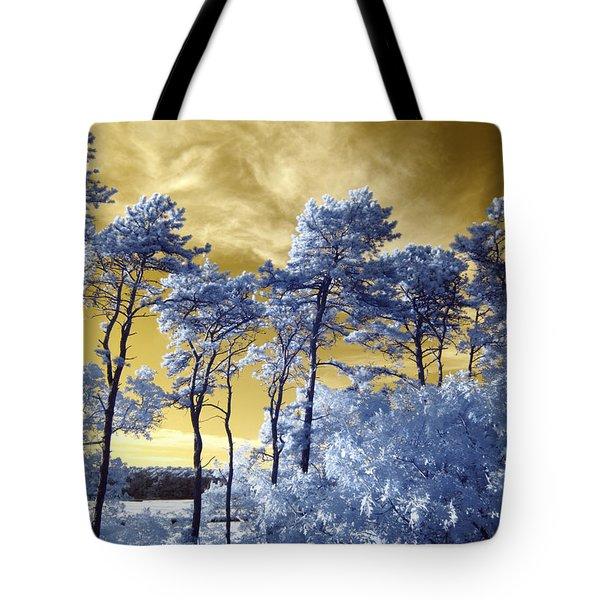 Cosmic Tote Bag by Luke Moore