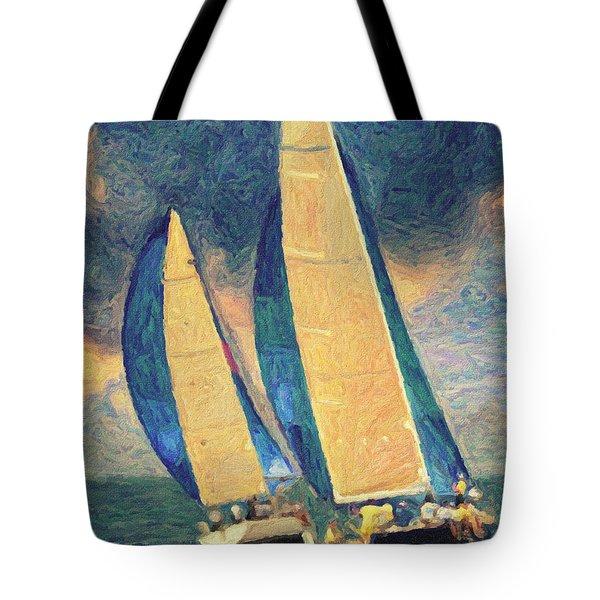 Costa Smeralda Tote Bag by Taylan Apukovska