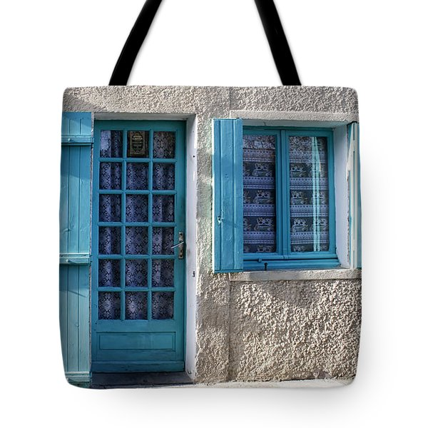 Cottage In France Tote Bag by Nomad Art And  Design