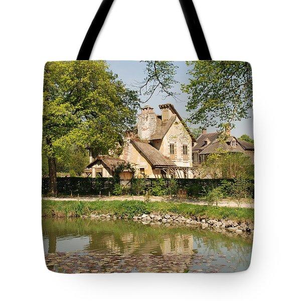 Cottage In The Hameau De La Reine Tote Bag by Jennifer Ancker