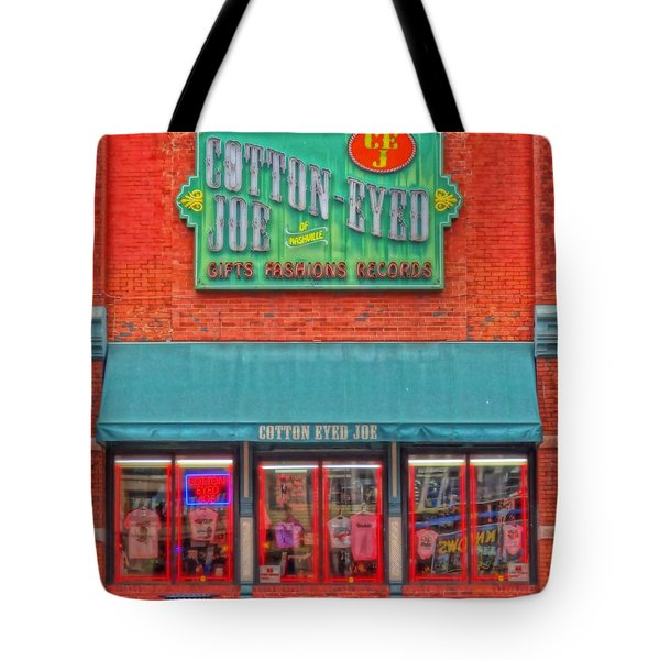 Cotton Eyed Joe Tote Bag by Dan Sproul