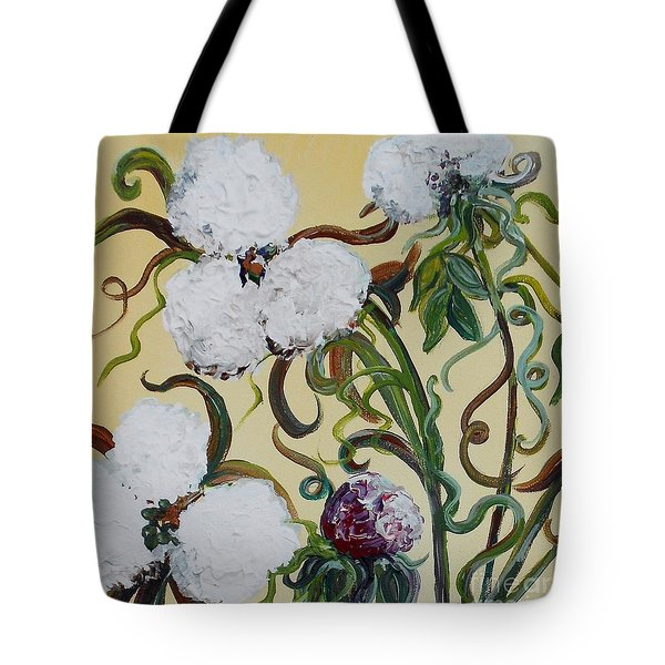 Cotton Squared Tote Bag by Eloise Schneider