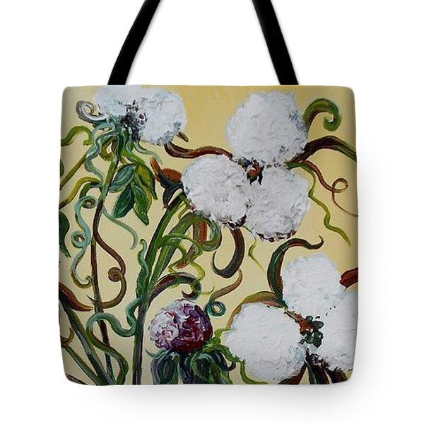 Cotton Triptych Tote Bag by Eloise Schneider