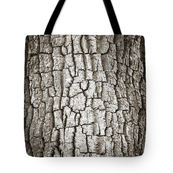 Cottonwood Bark 1 Tote Bag by Marilyn Hunt