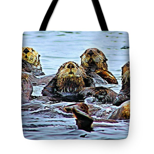 Couch Critters Tote Bag by Kristin Elmquist