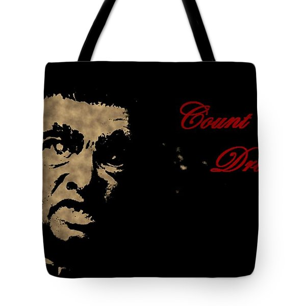 Count Dracula Visits Halifax Tote Bag by John Malone